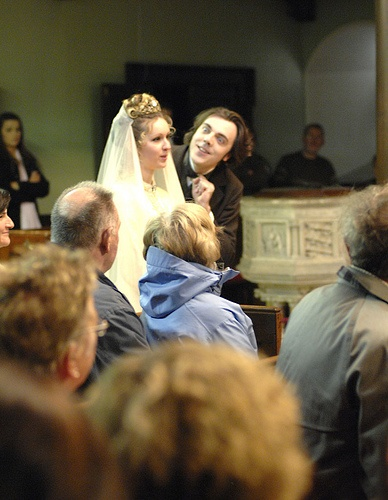 As Oscar Wilde. 'A Re-enactment of the Wedding of Bram Stoker' (Dublin: One City One Book, 2009)