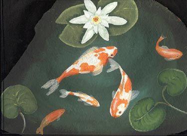 1000 ideas about rock animals on pinterest rocks stone for Koi pond gift ideas