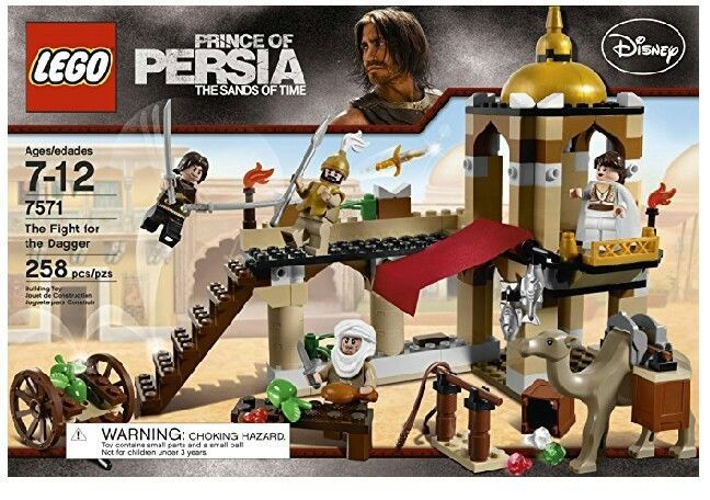 Lego Disney Prince of Persia 7571 The Fight for the Dagger | Toys & Hobbies, Building Toys, LEGO | eBay!