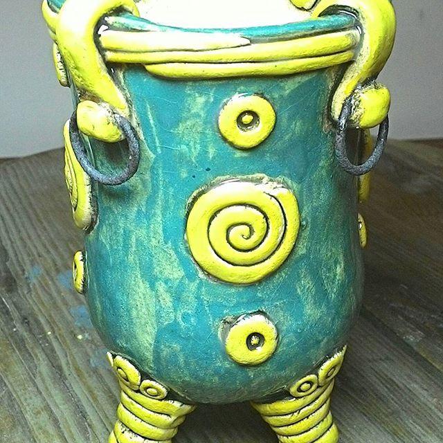 #керамика #ручнаяработа #ангоб  #глазурь