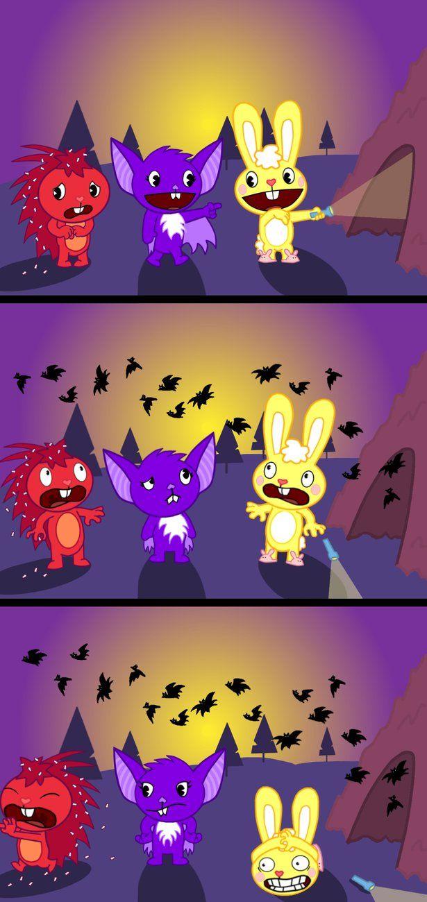 HTF  Gone Batty by PsykotiKPenguin on deviantART  Happy