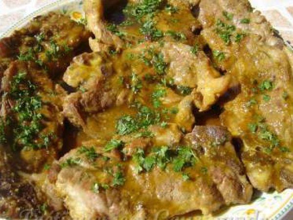Recette Côtes de porc au miel et au curry, par Ninie301 - Ptitchef