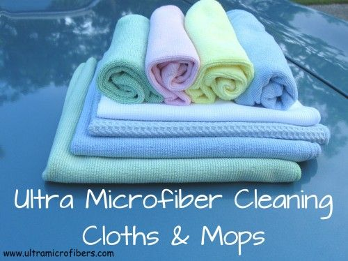 Chemical free cleaning is made easy with Ultra Microfiber Cloths and Mops. Check them out, enter to win some of your own & get a promo code to!