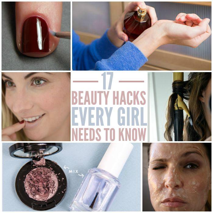 Beauty Hacks You WISH You Knew Yesterday | Apply eyeliner ...
