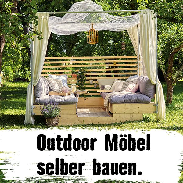 DIY Outdoor Möbel