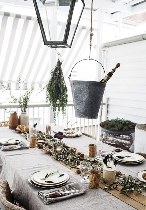 Rustic Table Textures / Wedding Style Inspiration / LANE