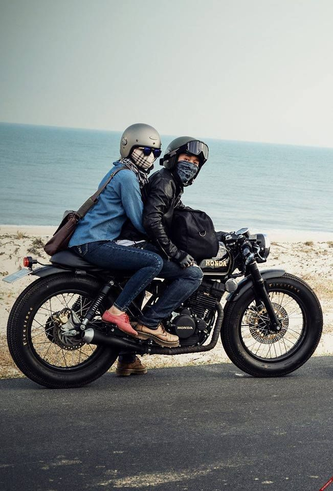#lifestyle #motorcycleculture #culturamotera   caferacerpasion.com www.suzukigs500.co.uk