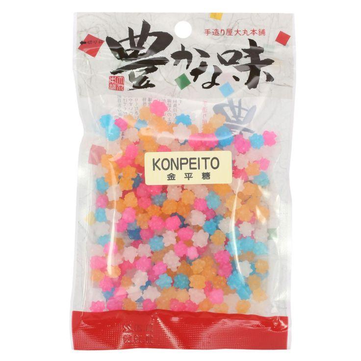 Japanese Konpeito Hard Candy   Oz