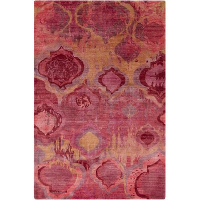 Found it at Wayfair - Watercolor Magenta Area Rug
