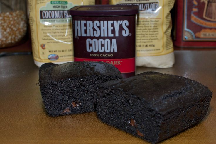 Delicious Chocolate Keto Brownies - substitute truvia with sweetleaf stevia