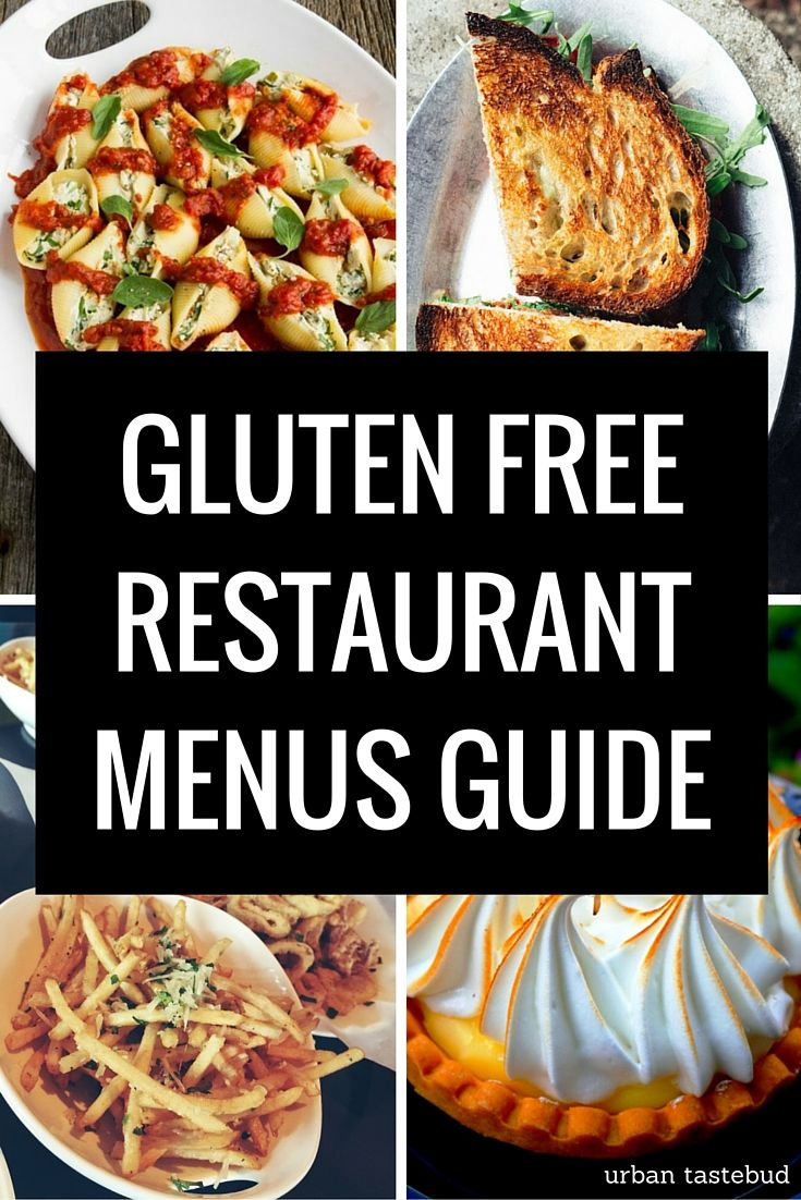 Get instant access to over 225 gluten free restaurant menus from across the country, including the U.S. and Canada.