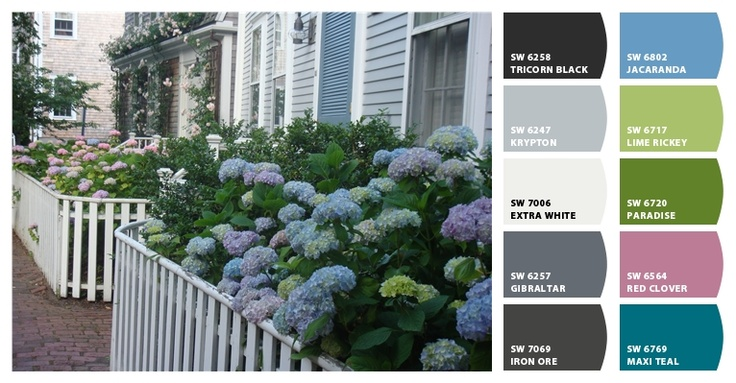 chip it colors by sherwin williams to match photos!