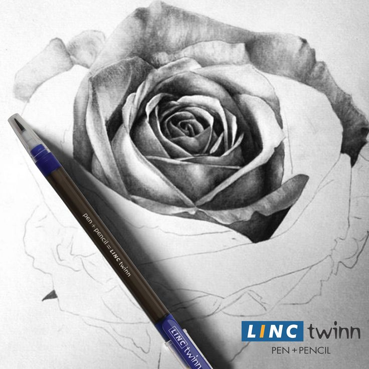 What do you love to sketch with? A pen or a pencil- Linc Twinn serves both the roles flawlessly!  #LincPens #Pens #LincTwinn