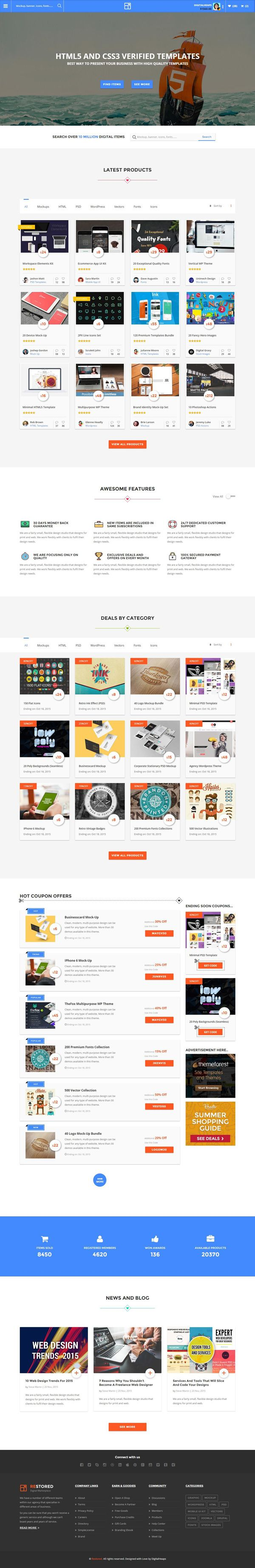 195 besten Downloads - templates Bilder auf Pinterest | Dashboards ...