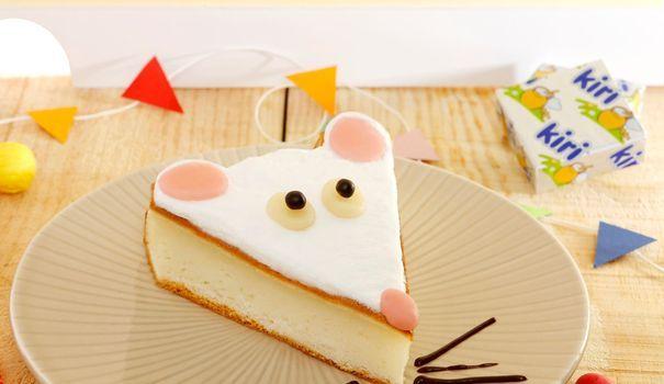 Voilà une recette de gâteau original à base de Kiri et en forme de souris, qui séduira les enfants les plus gourmands.