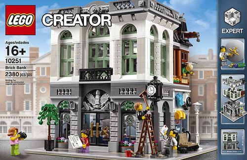 LEGO Creator Modular Brick Bank (10251) Officially Announced
