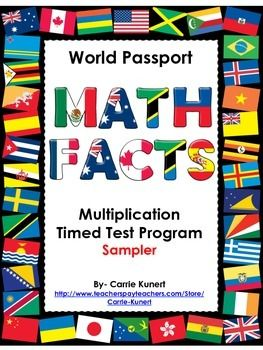 THIS PRODUCT IS A SAMPLER OF MY MULTIPLICATION TIMED TEST PRODUCTS. I HOPE YOU ENJOY AND FIND THESE USEFUL FOR YOUR STUDENTS. I have always wanted a multiplication test program for my students which was more educational than collecting stickers or toppings for an ice cream sundae once passing a level.