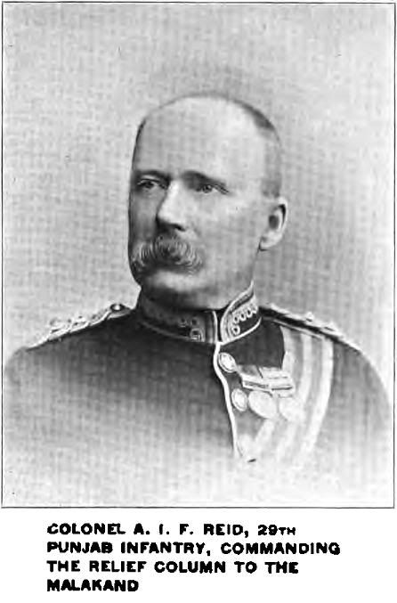 Maj Gen Sir A J F REID, Indian Army