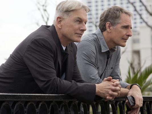 Gibbs & Pride - NCIS New Orleans - 3/13/2014  Mark Harmon & Scott Bakula