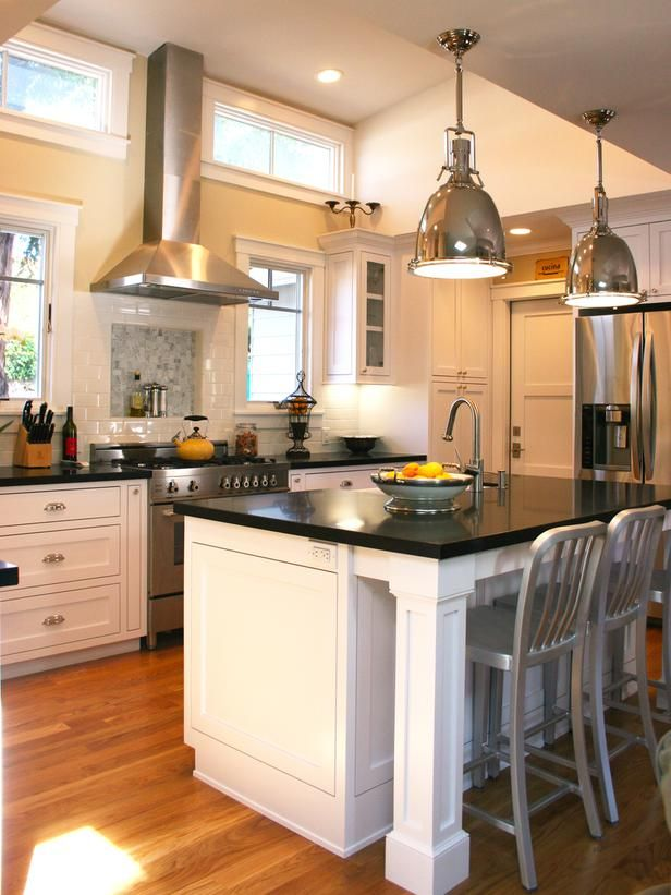 hgtv kitchen island ideas contemporary kitchens brian flynn designer 4187