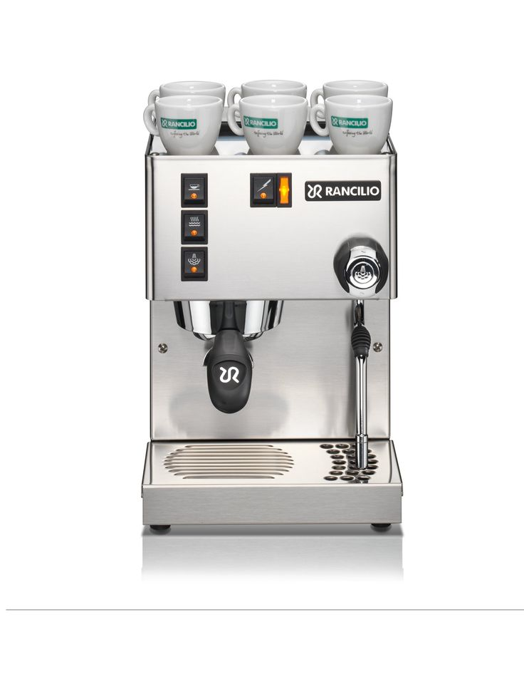 Rancilio's Silvia V3 is the stuff of legends, being much loved for its solid build, modability, and stylin' design. Ships free.
