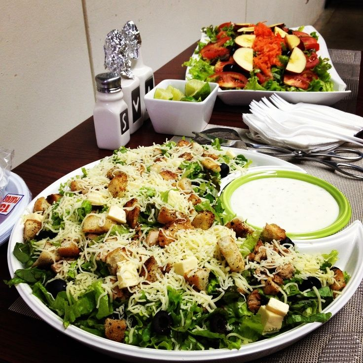 Simply Gourmet in Southie: Fresh City Catered Salad Bar  Salad Bar Luncheon Ideas