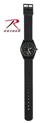 "Black ""SWAT"" Watch- Vermont's Barre Army Navy Store"