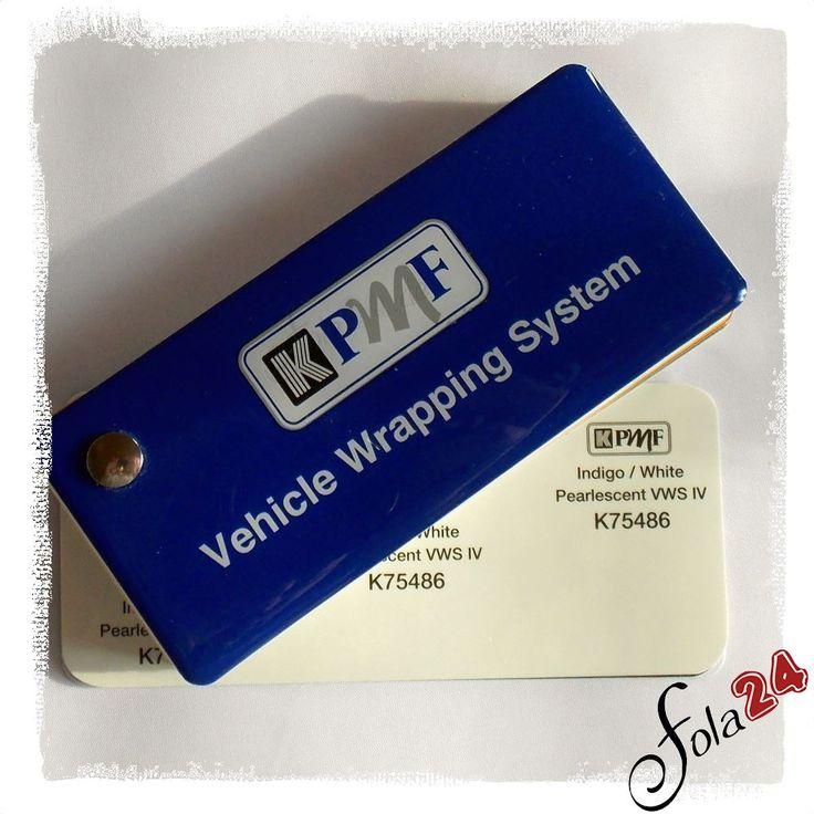K75486 Indigo / Weiß Pearlescent VWS IV - KPMF - Autofolien - Car Wrapping Folien