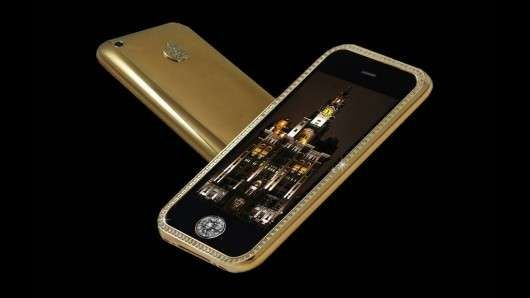 The Goldstriker iPhone 3GS Supreme Contains 136 Diamonds---price tag.....$3.2mil