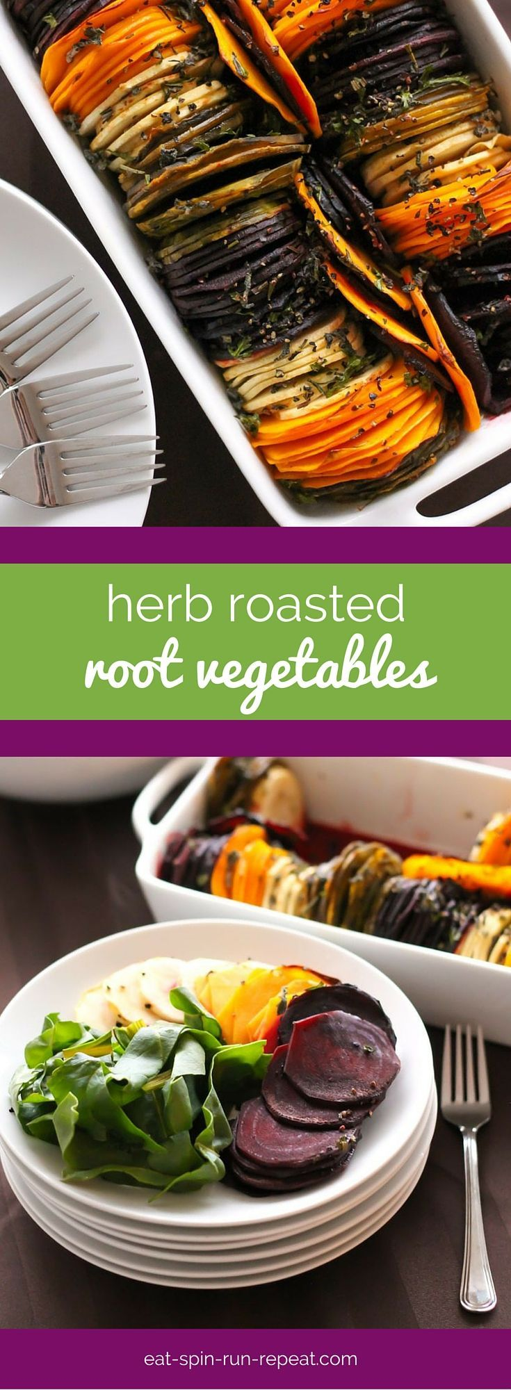 Need a fancy-ish healthy dish to impress your guests over the holidays? These herb roasted root vegetables should do the trick!