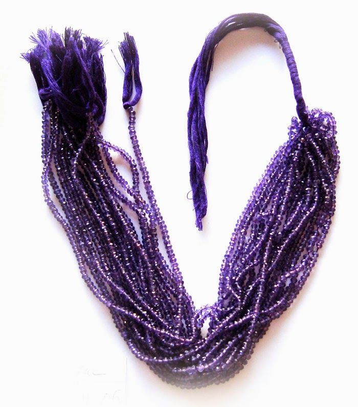 Riddhi Jewellery Creation: Amethyst - Semi-Precious Beads