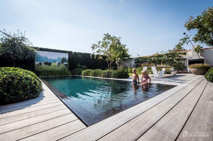 25 beste idee n over tuin spiegels op pinterest buiten spiegel tuin screening en hekwerk - Hoe aangelegde tuin ...
