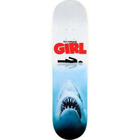 Girl Shark Attack Mariano 8 0 Quot Skateboard Deck Sharks
