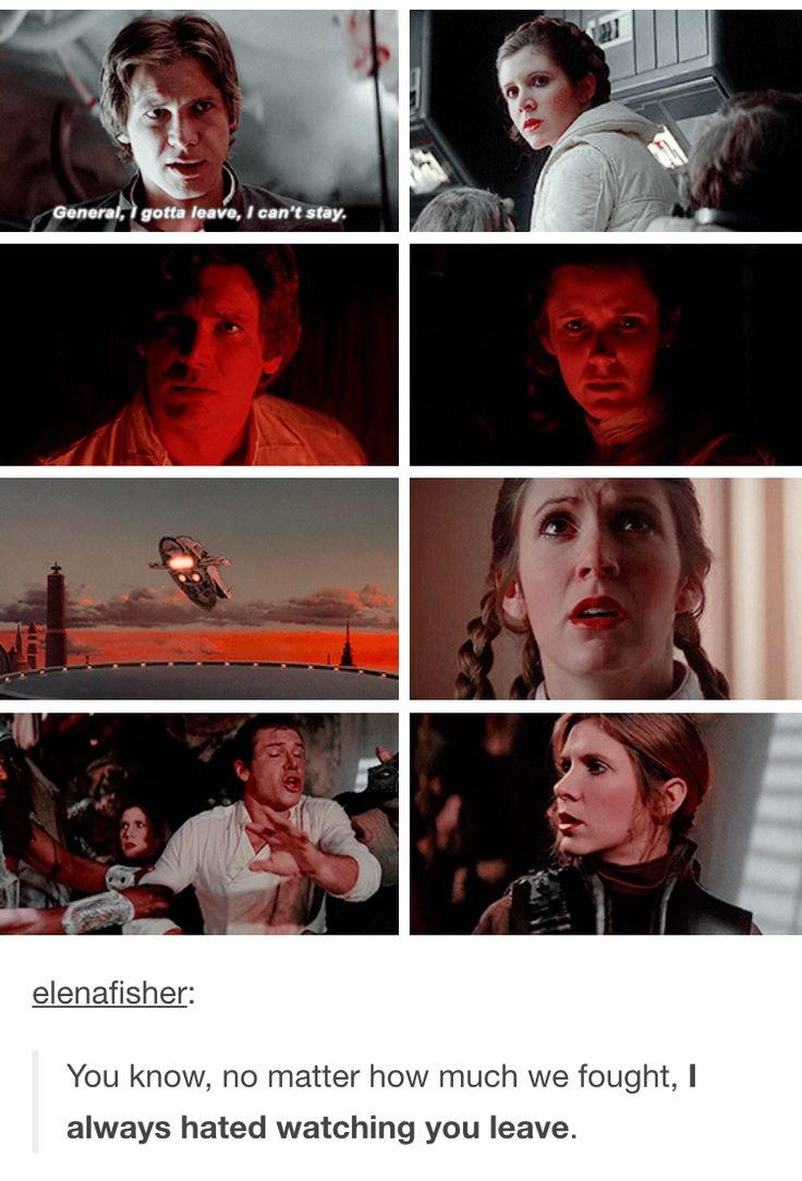 This is sad but Han's face in the bottom left corner XD