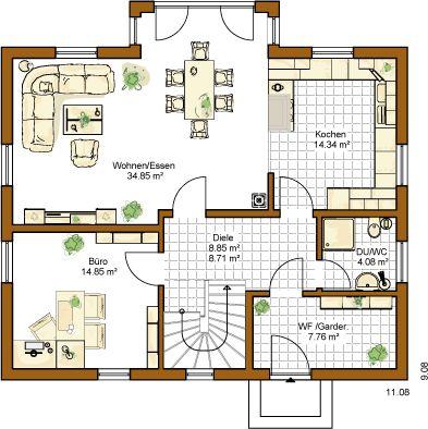 Hauspläne einfamilienhaus neubau  Die 26 besten Bilder zu moderne Hauspläne auf Pinterest