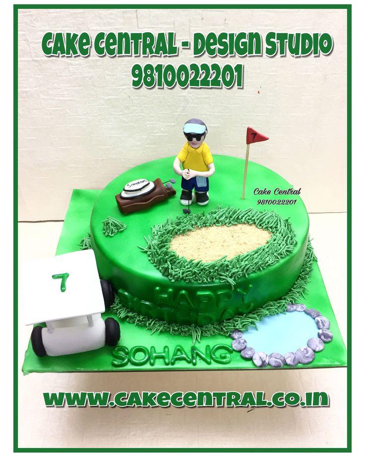 how to make a 3d golf bag cake