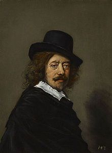 After Frans Hals - Portrait of Frans Hals - Indianapolis.jpg Frans Hals the Elder (/hɑːls/;[1] Dutch: [ɦɑls]; c. 1582 – 26 August 1666) was a Dutch Golden Age portrait painter who lived and worked in Haarlem. He is notable for his loose painterly brushwork, and he helped introduce this lively style of painting into Dutch art. Hals played an important role in the evolution of 17th-century group portraiture.