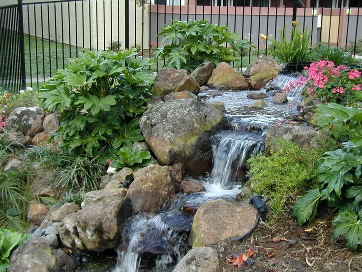 119 best images about asian landscape design on pinterest Backyard water feature ideas
