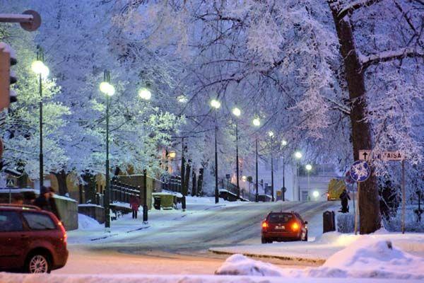 Helsinki's uniquely beautiful winter soul.