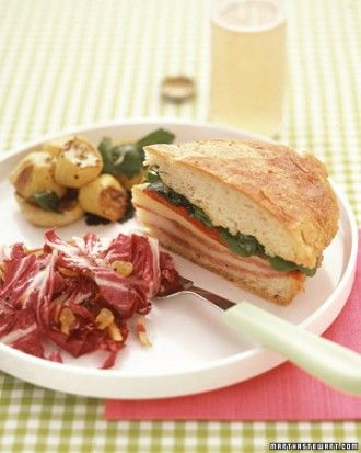 "See the ""Pressed Salami Sandwiches"" in our  gallery"