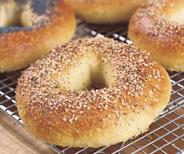 For the chewy crumb and shiny crust coveted by true bagel fans, use the right flour and boil the dough before baking