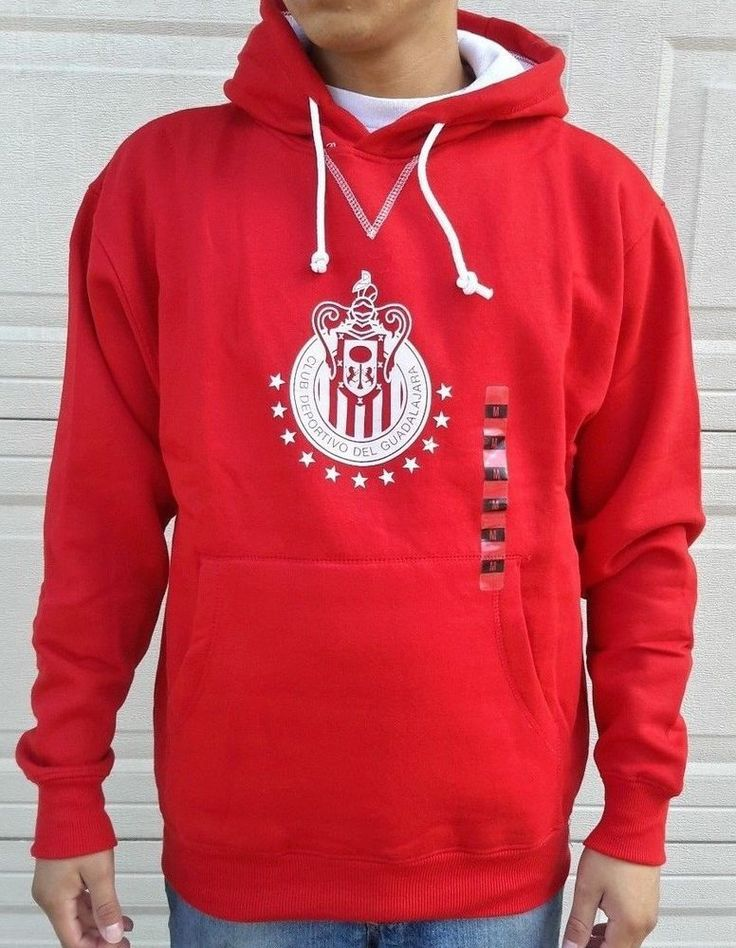 Chivas Del Guadalajara Sweatshirt w/Pocket/Hooded Thermal NWT Official Rhinox  #Rhinox #ChivasDelGuadalajara