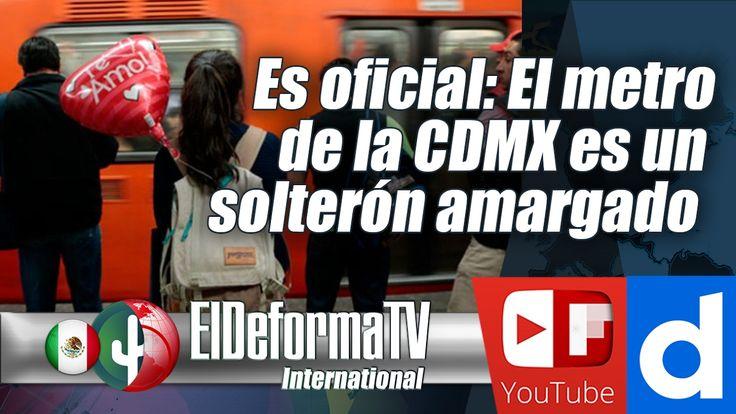 Es oficial: El metro de la CDMX es un solterón amargado