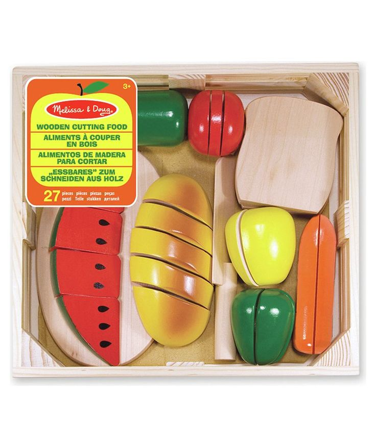 Buy Melissa and Doug Wooden Cutting Food at Argos.co.uk - Your Online Shop for Cooking role play, Wooden toys.