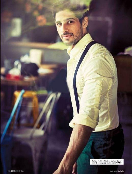 Sidharth Malhotra Hi Blitz July 2015 #photoshoot. #Bollywood #Fashion #Style #Handsome