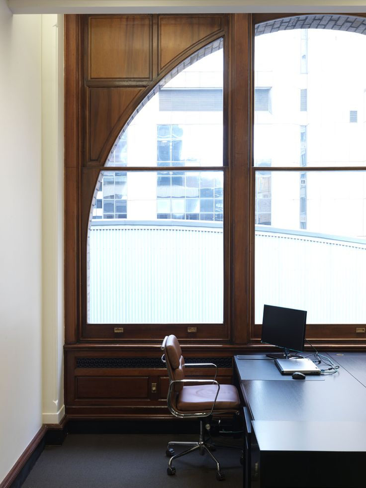 PIPECLAY LAWSON OFFICES | alwill  #interiors #study #office #desk #wood #window