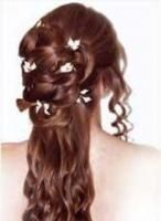 A little bit of everythingup down flowers curls twists