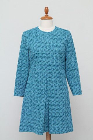 Mønstret kjole 1960. M-L