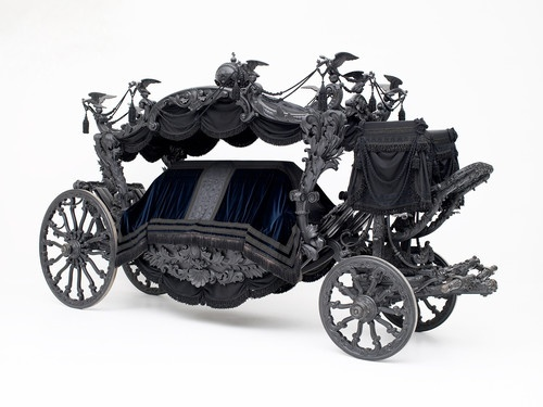 Imperial Hearse (Vienna, 1877)   It was used for the funeral of Empress Elizabeth in 1898.   © Vienna, Kunsthistorisches Museum