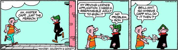 Andy Capp Cartoon for Jul/25/2014